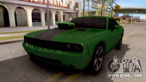 Dodge Challenger SRT-8 2010 Ben 10 Alien Swarm for GTA San Andreas