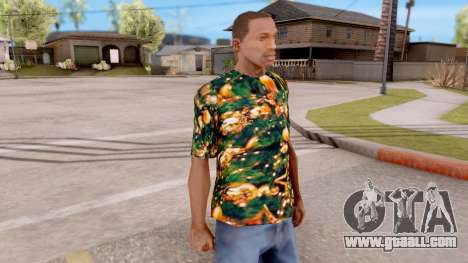 Christmas t-shirt for GTA San Andreas second screenshot