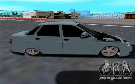 Lada 2110 for GTA San Andreas left view