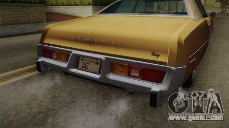 Plymouth Fury Salon (RL41) 1978 HQLM for GTA San Andreas inner view