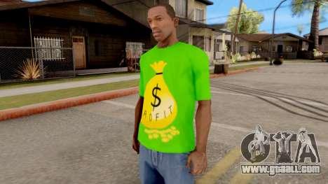 T-Shirt Money for GTA San Andreas