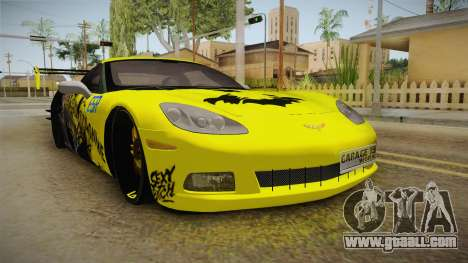 Chevrolet Corvette 2006 Philippines for GTA San Andreas right view