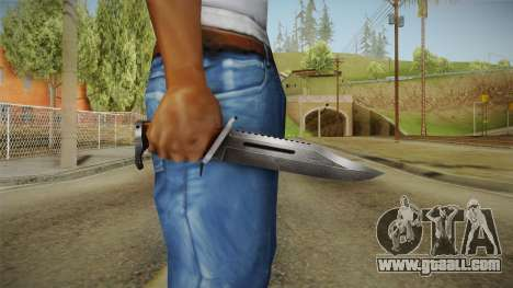 DevKnife v1.19 for GTA San Andreas