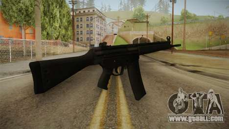HK-33 Assault Rifle for GTA San Andreas second screenshot