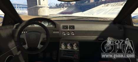 GTA 5 Ubermacht Sentinel Custom rear left side view