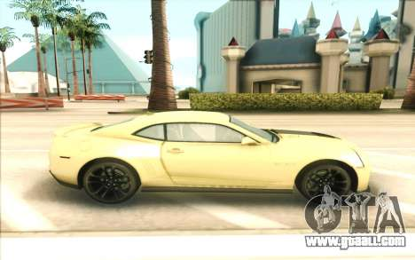 Chevrolet Camaro ZL1 for GTA San Andreas left view