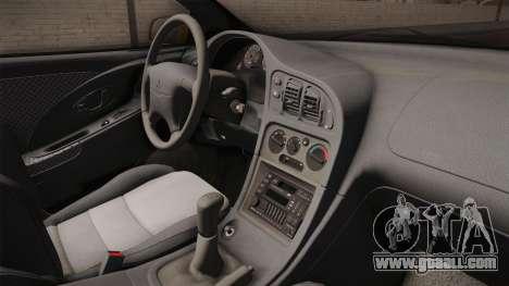 Mitsubishi Eclipse GSX 1995 HQLM for GTA San Andreas inner view