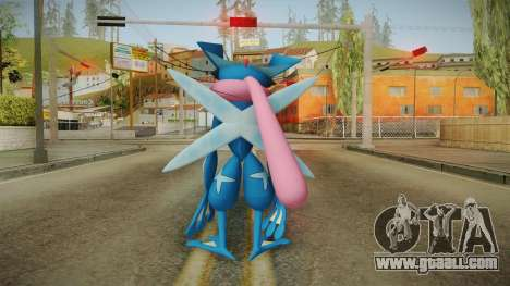 Pokémon XYZ Series - Ash-Greninja for GTA San Andreas third screenshot