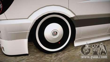 Mercedes-Benz Sprinter v3 for GTA San Andreas back view