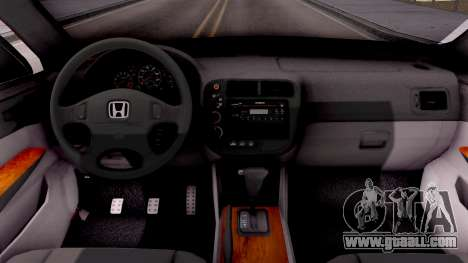 Honda Accord 2004 for GTA San Andreas inner view