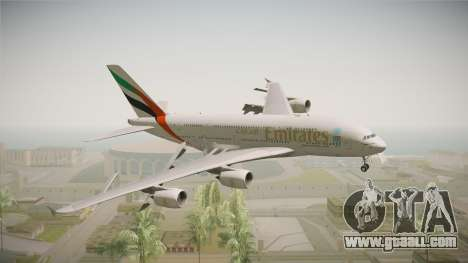 Airbus A380 Emirates Expo 2020 Dubai for GTA San Andreas