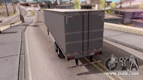Refrigerated Trailer from ATS for GTA San Andreas left view