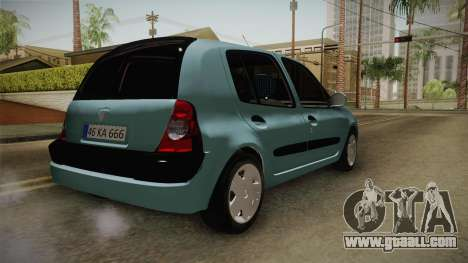 Renault Clio 1.6 16v Hatchback for GTA San Andreas right view