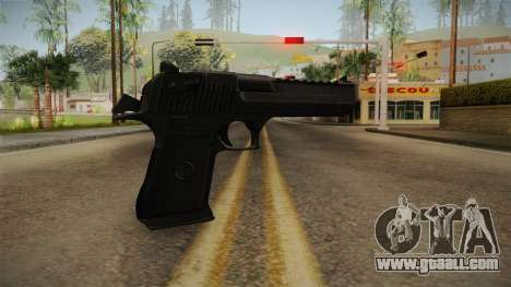 Desert Eagle Black for GTA San Andreas second screenshot