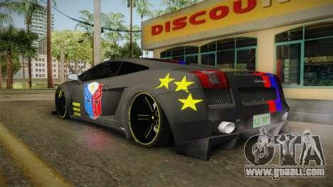 Lamborghini Gallardo Philippines for GTA San Andreas left view