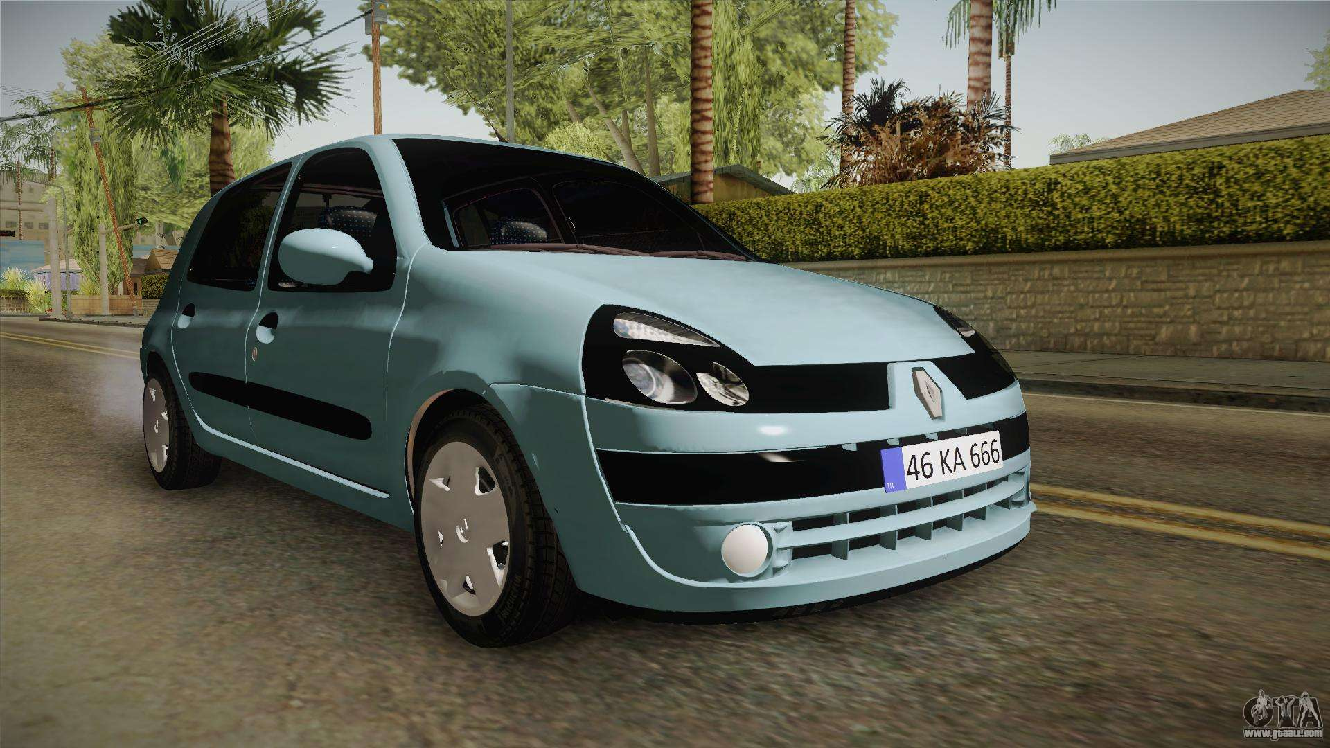 renault clio 1 6 16v hatchback for gta san andreas. Black Bedroom Furniture Sets. Home Design Ideas