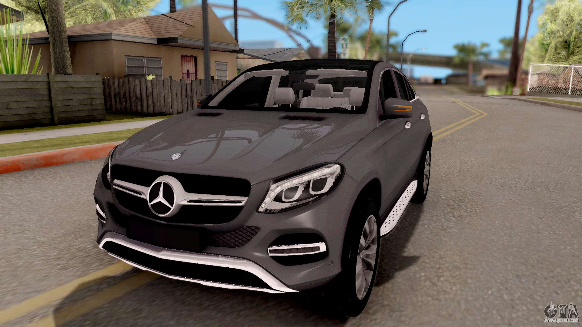 mercedes benz gle 350d for gta san andreas. Black Bedroom Furniture Sets. Home Design Ideas