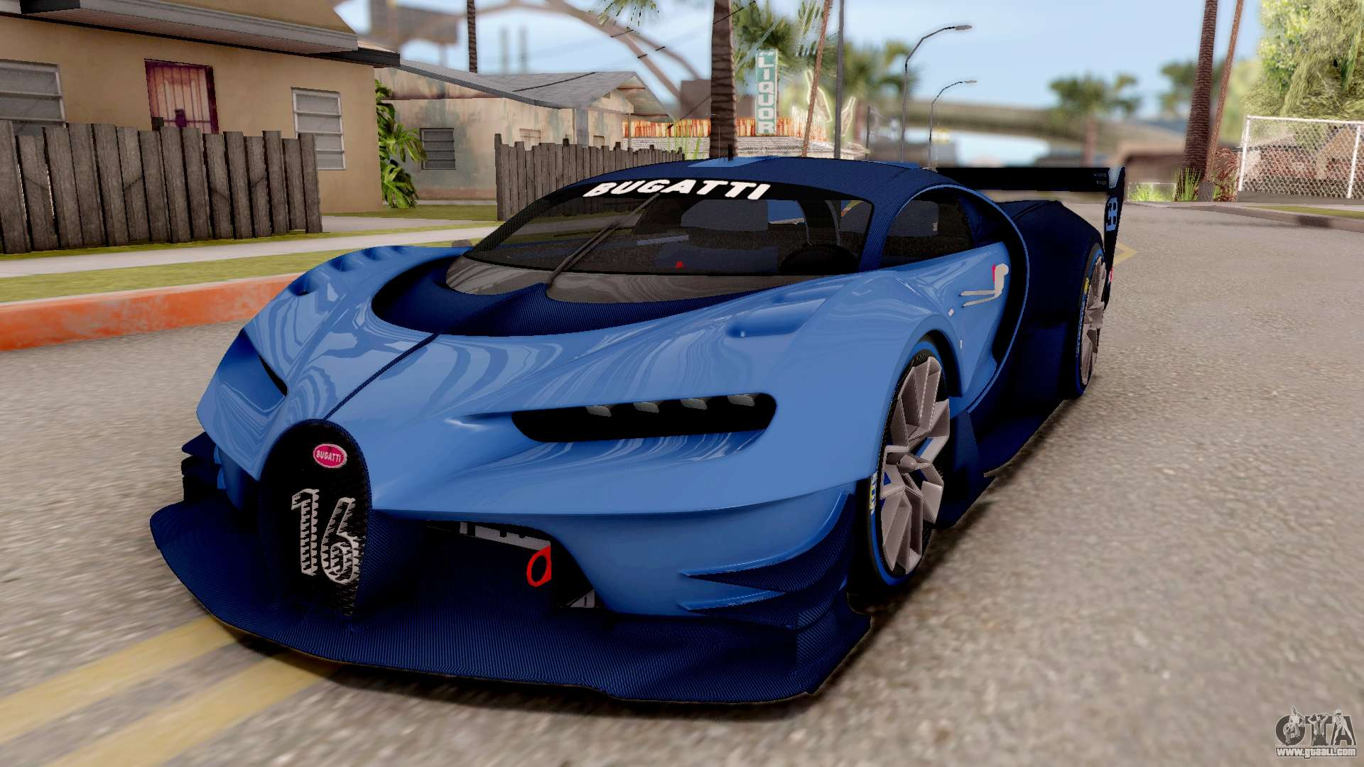 Cool Gold Cars >> Bugatti Vision GT for GTA San Andreas