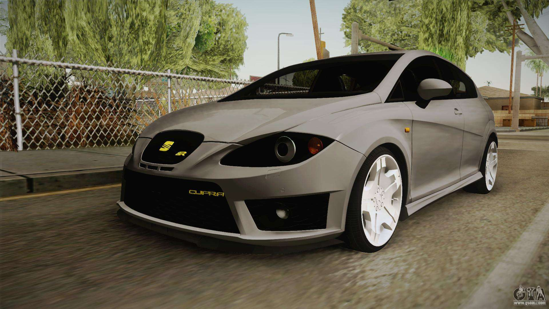 seat leon cupra r for gta san andreas. Black Bedroom Furniture Sets. Home Design Ideas