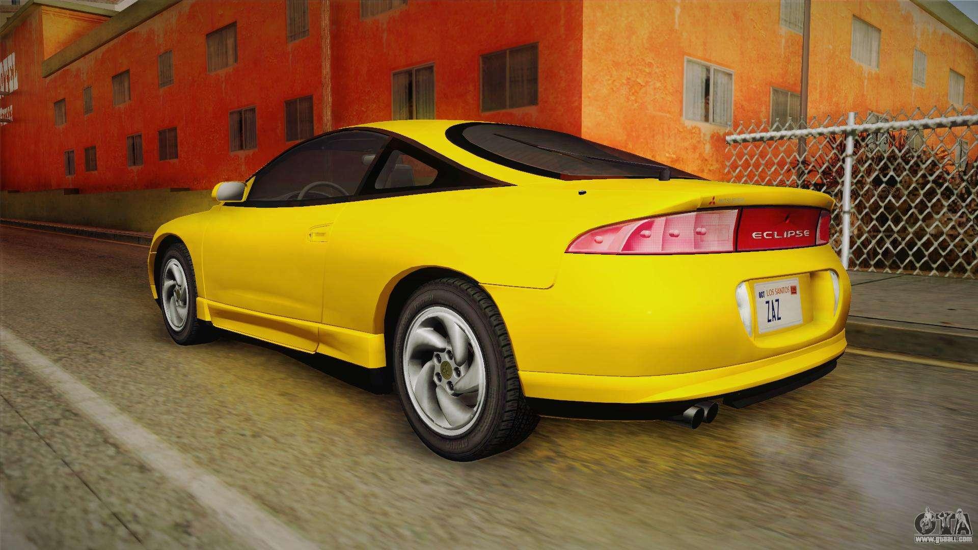 Mitsubishi Eclipse 1995 >> Mitsubishi Eclipse GSX 1995 HQLM for GTA San Andreas
