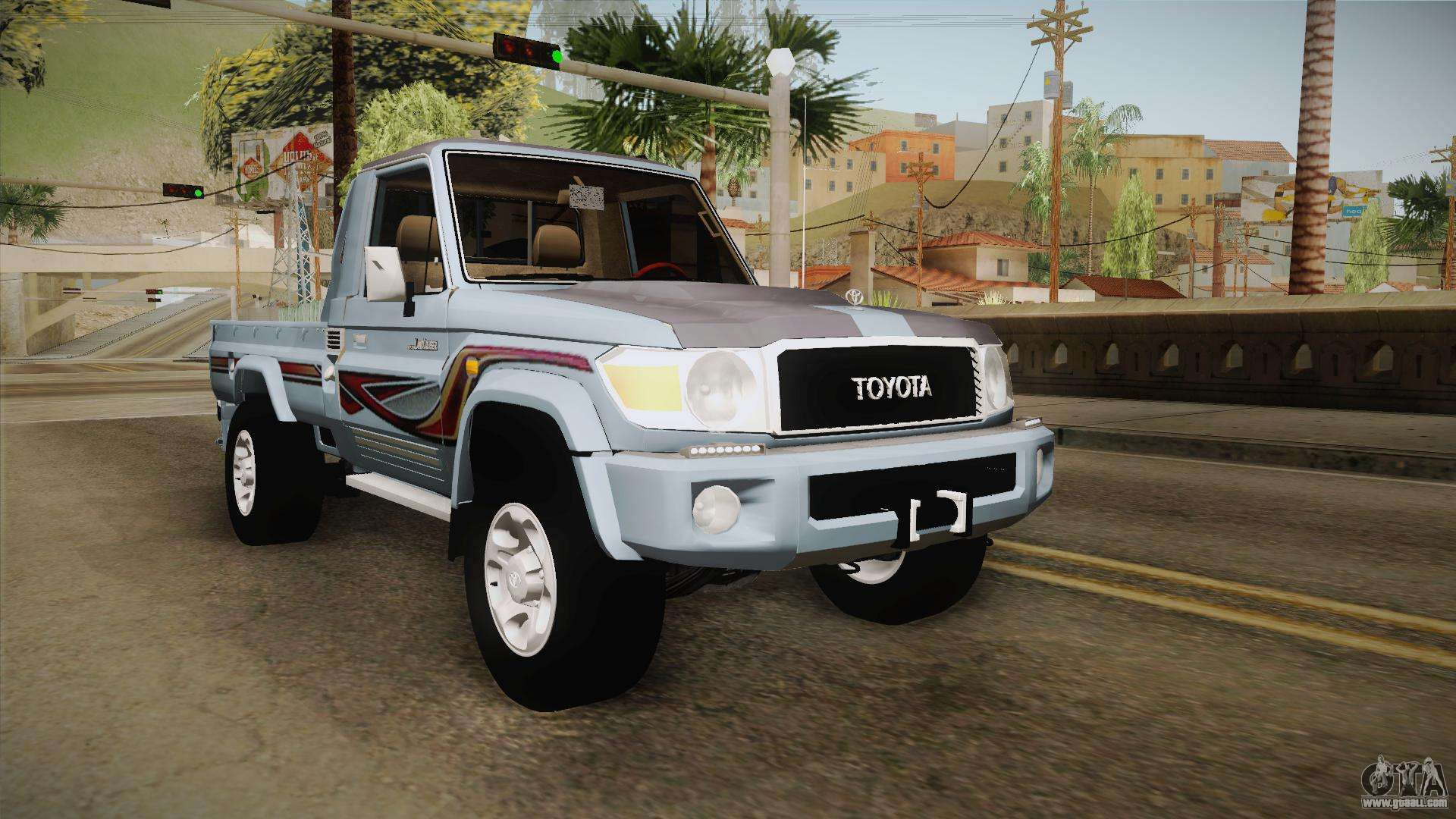 Toyota Land Cruiser For Gta San Andreas 1960 77 J79 2016