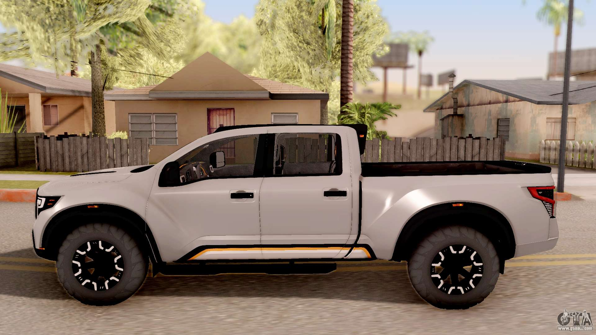 Nissan Titan Warrior 2017 For Gta San Andreas