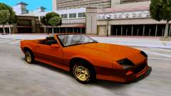 Chevrolet Camaro SS 1985 Cabriolet for GTA San Andreas