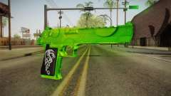 Green Weapon 1 for GTA San Andreas