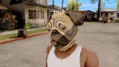 Mask Dog Pug for GTA San Andreas