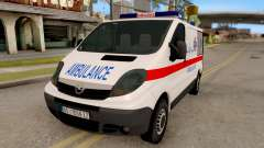 Opel Vivaro Serbian Ambulance for GTA San Andreas