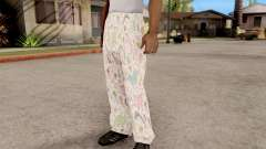 Pants pajama for GTA San Andreas