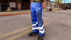 Blue pants for GTA San Andreas