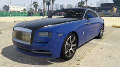 Rolls-Royce Wraith 1.1 for GTA 5
