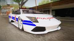 Lamborghini Murcielago P640 Bulacan Police for GTA San Andreas