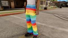 Iridescent pants for GTA San Andreas