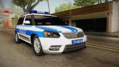 Skoda Yeti Serbian Traffic Police for GTA San Andreas