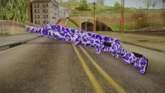 Tiger Violet Shotgun 1 for GTA San Andreas