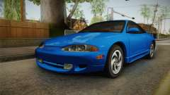 Mitsubishi Eclipse GSX 1995 Dirt HQLM for GTA San Andreas