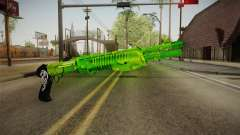 Green Weapon 3 for GTA San Andreas
