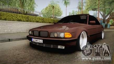 BMW 730i E38 Danker for GTA San Andreas