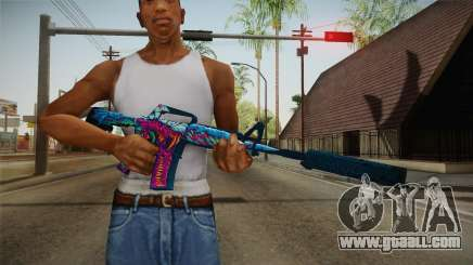 CS:GO - M4A1-S Hyper Beast for GTA San Andreas