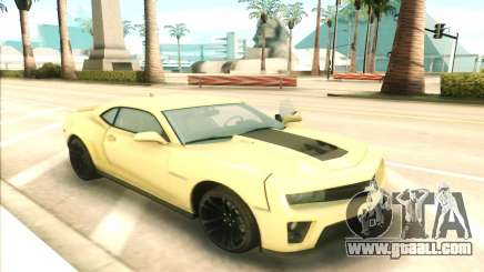 Chevrolet Camaro ZL1 for GTA San Andreas