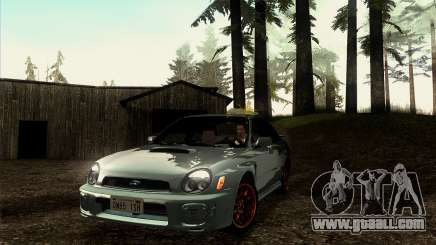 2001 Subaru Impreza WRX v 1.1 IVF [Tunable] for GTA San Andreas
