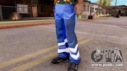 Blue pants for GTA San Andreas
