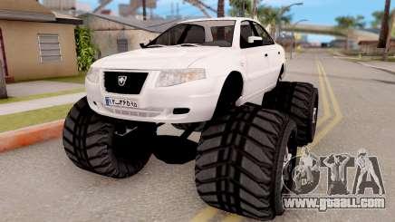 IKCO Samand Soren Monster for GTA San Andreas