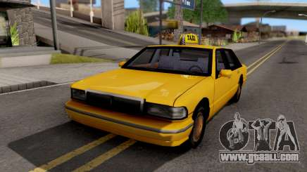 Taxi New Texture for GTA San Andreas