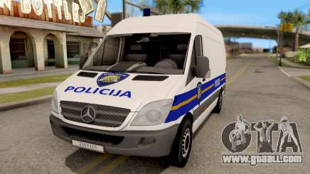 Mercedes-Benz Sprinter Croatian Police Van for GTA San Andreas