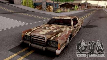 New Paintjob for Remington v2 for GTA San Andreas