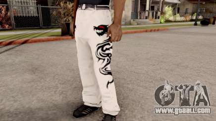 Dragon Style Pants for GTA San Andreas