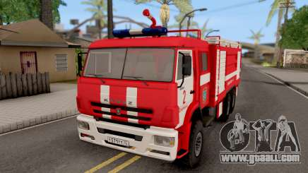 KamAZ-6520 Fire AC-40 for GTA San Andreas
